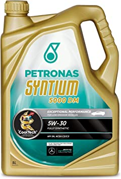 Petronas Syntium 5000 Dm 5w 30 5l 5 Liter Vollsynthetisches Motorenöl Auto
