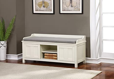 Fantastic Linon Lakeville Storage Bench Creativecarmelina Interior Chair Design Creativecarmelinacom