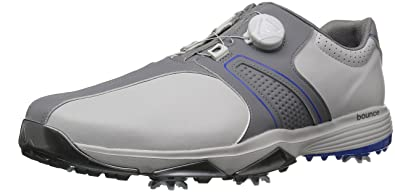 d7fa583fb adidas Men s s 360 Traxion Boa WD Golf Shoe One Grey Three Hi-res Blue
