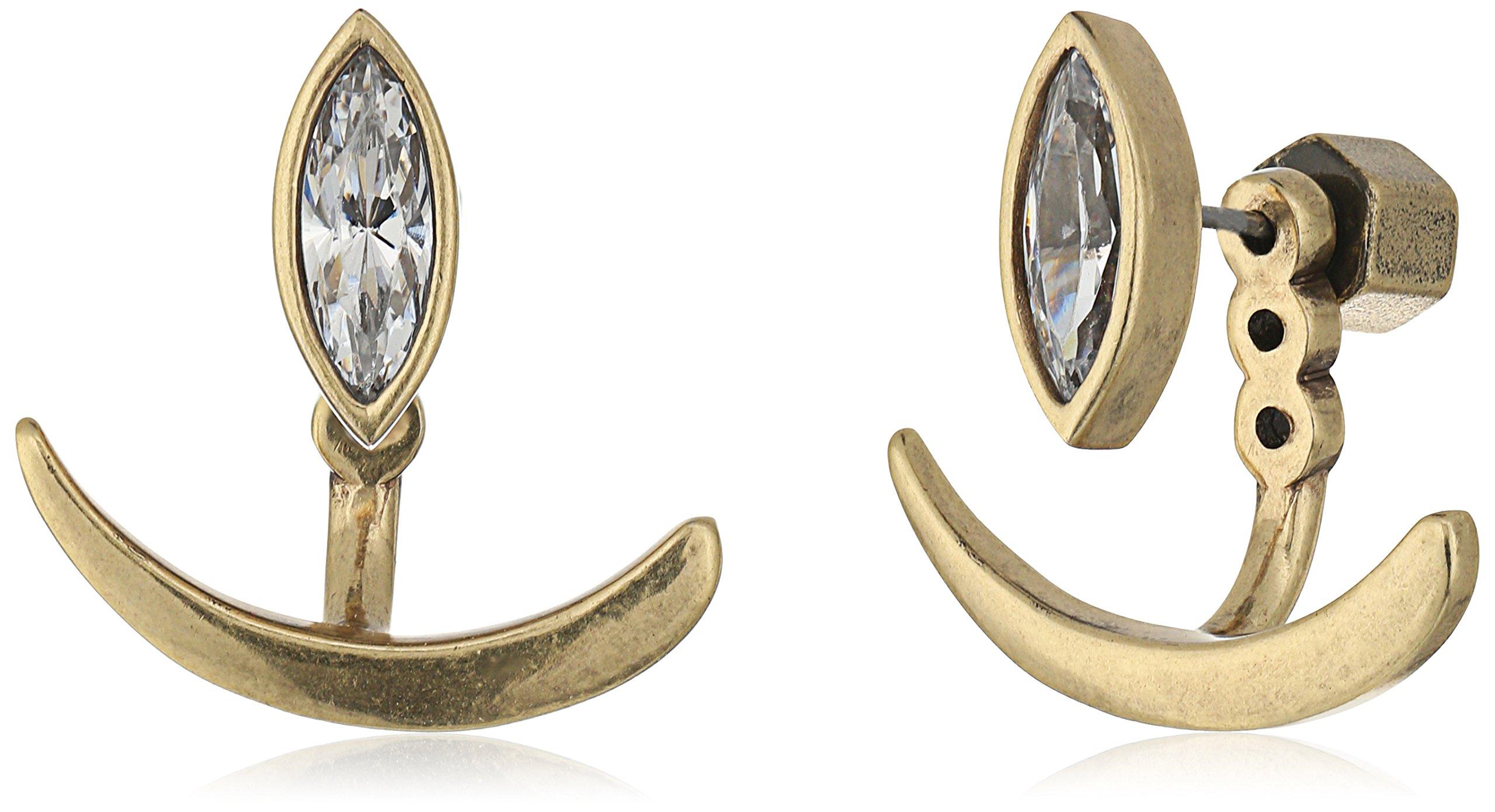 Nicole Miller ''Artelier'' Marquise Earring Jackets