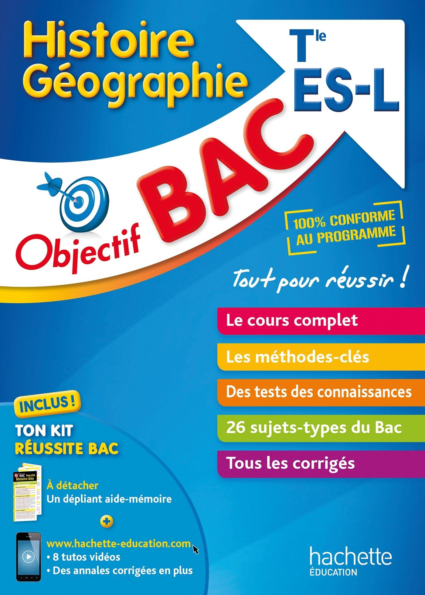 Histoire Géographie Tle ES/L (French) Paperback – June 28, 2017