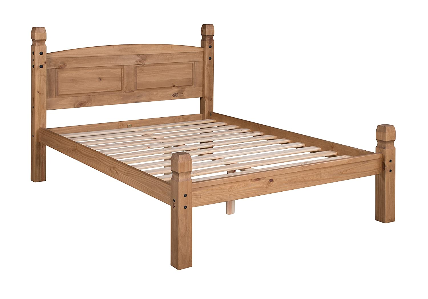 Mercers Furniture Trade Corona Double 46 Low Foot End Bed Frame