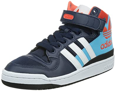 quality design 5a02f aa855 adidas Forum Mid Rs XL, Blue Navy Orange, 9.5 M Us