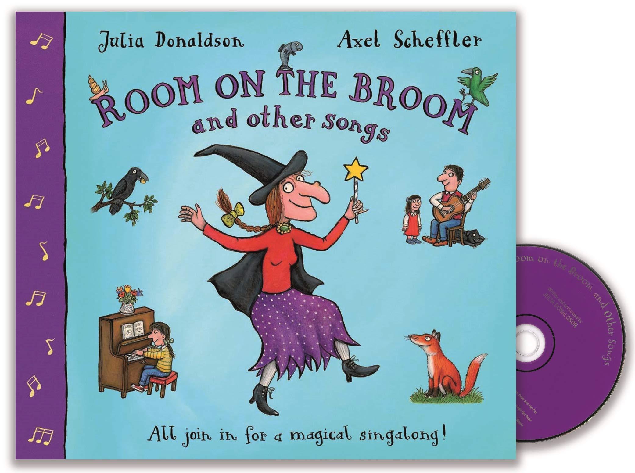 Room on the Broom and Other Songs. Book + CD: Amazon.es: Donaldson, Julia, Scheffler, Axel, Donaldson, Julia: Libros en idiomas extranjeros