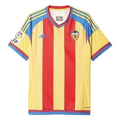8f78a7191b1 2º Equipación Valencia C.F 2015/2016 - Camiseta oficial adidas: Amazon.es:  Ropa y accesorios