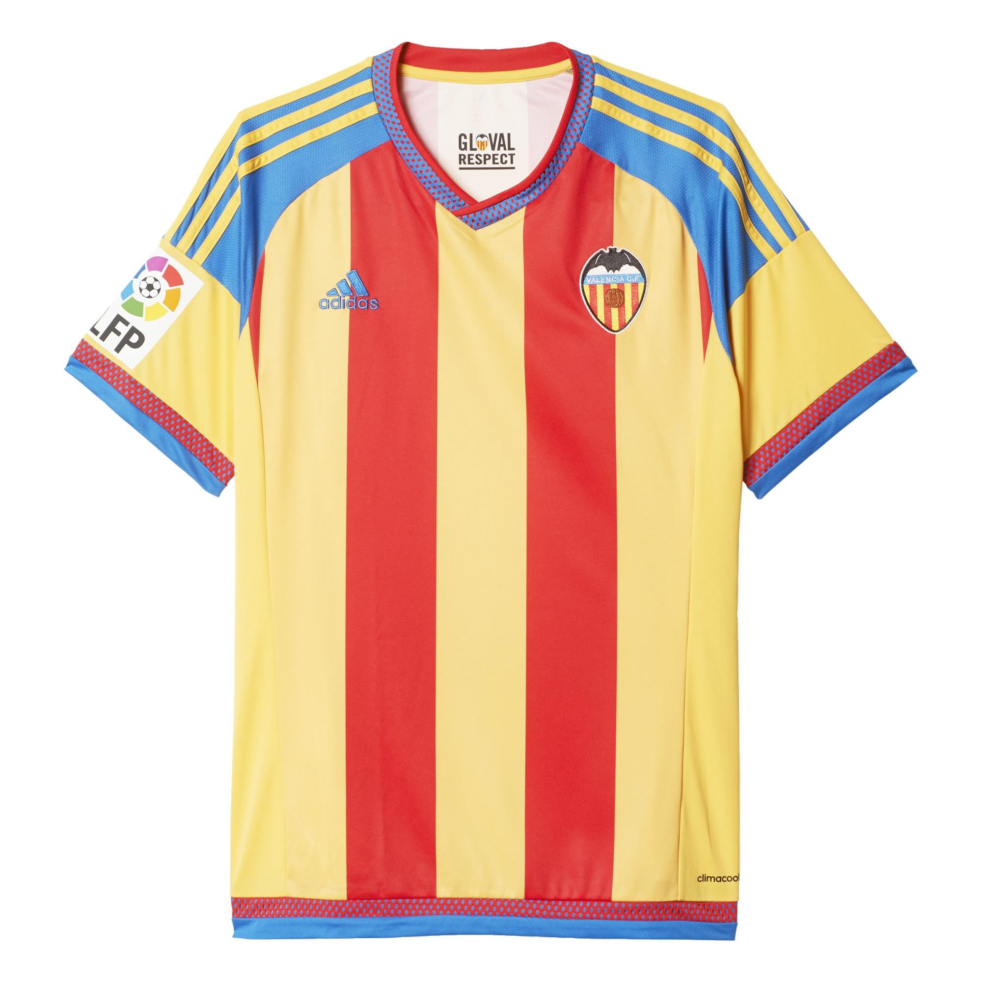 2º Equipación Valencia C.F 2015/2016 - Camiseta oficial adidas, talla M product image