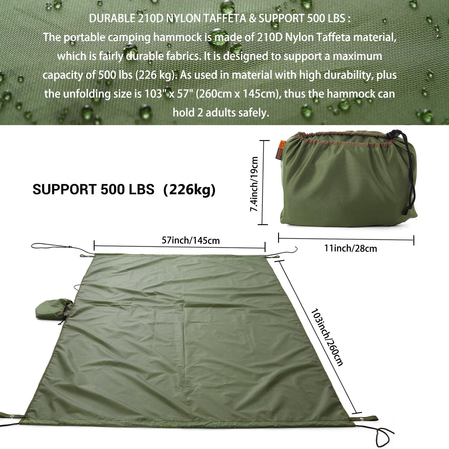 holds best set hammock lbs parachute that camping winner summer silk sale outfitters double