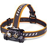 Fenix Lighting Fenix HM65R Rechargeable Headlamp, Black