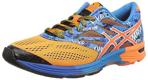Asics Gel-Noosa Tri 10 - Zapatillas de Running Para Hombre, Color Naranja (