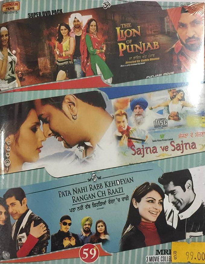 Amazon In Buy The Lion Of Punjab Sajna Ve Sajna Pata Ni Rabb Kehdeyan Rangan Ch Raazi Dvd Blu Ray Online At Best Prices In India Movies Tv Shows