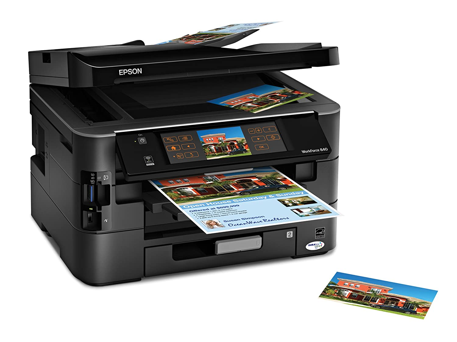 amazon com epson workforce 840 wireless all in one color inkjet rh amazon com Photo Paper Epson Workforce 840 Photo Paper Epson Workforce 840