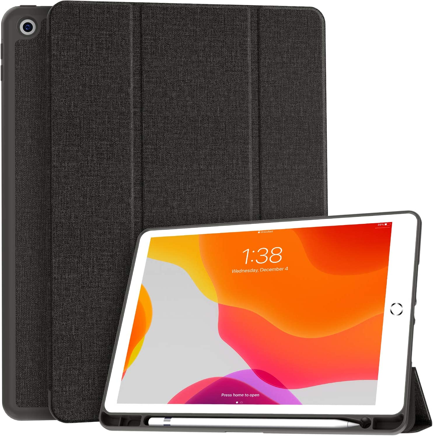 Funda Soke para iPad 10.2 8va/7ma Generación Gris