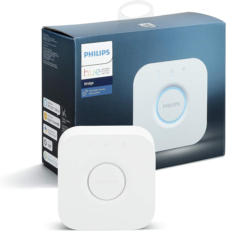 Philips Hue Pont de Connexion - Fonctionne avec Alexa - Compatible avec...