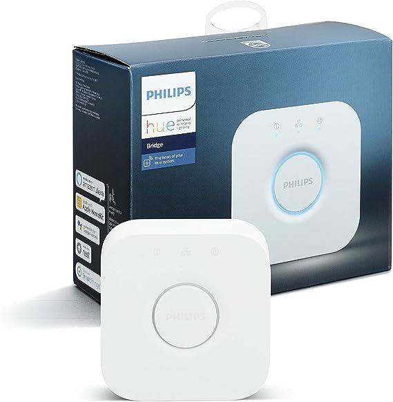 Philips Hue Puente de Conexión Controlable vía WiFi, Iluminación ...