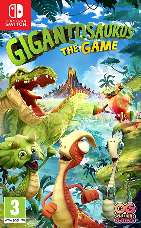 Gigantosaurus The Game - Nintendo Switch [Importación inglesa ...