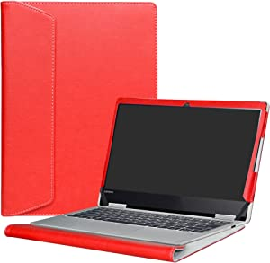 "Alapmk Protective Case Cover for 12.5"" Lenovo Yoga 720 12 720-12IKB Laptop(Not fit Yoga 730/Yoga 720 15/Yoga 720 13/Yoga 710/Yoga 700),Red"