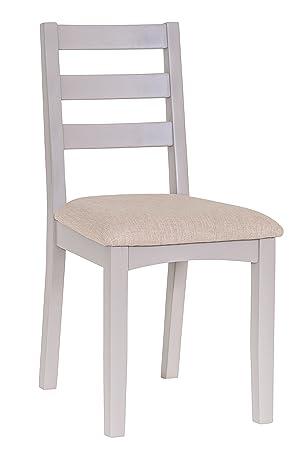 Exceptionnel The Furniture Outlet La Sortie Du Mobilier Malvern Shaker Chêne De Peinture  Gris Chaise De Salle