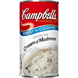 Campbell's Condensed Family Size Cream of Mushroom Soup, 22.6 oz. Can