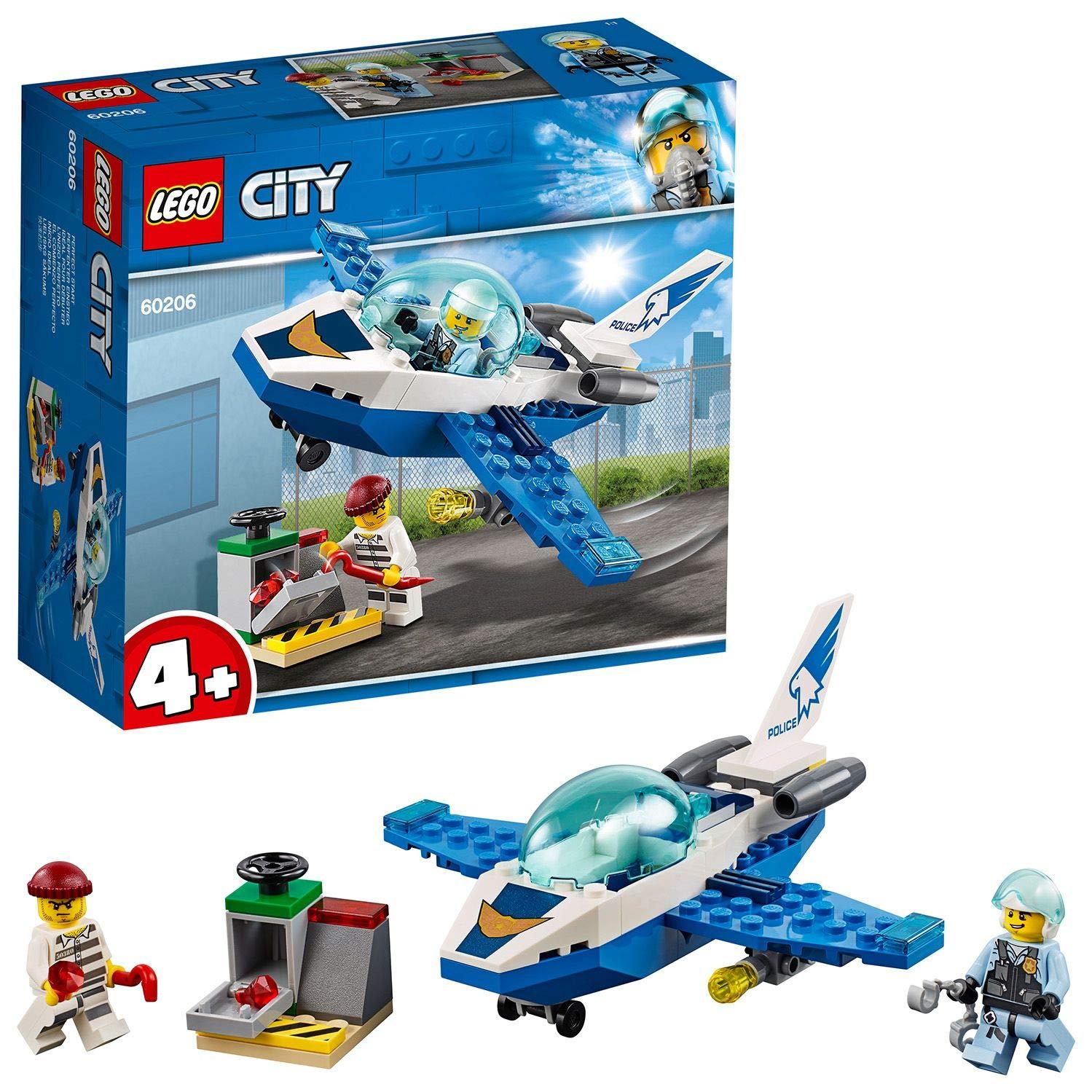 LEGO City Police - Policía Aérea: Jet Patrulla, Set de ...
