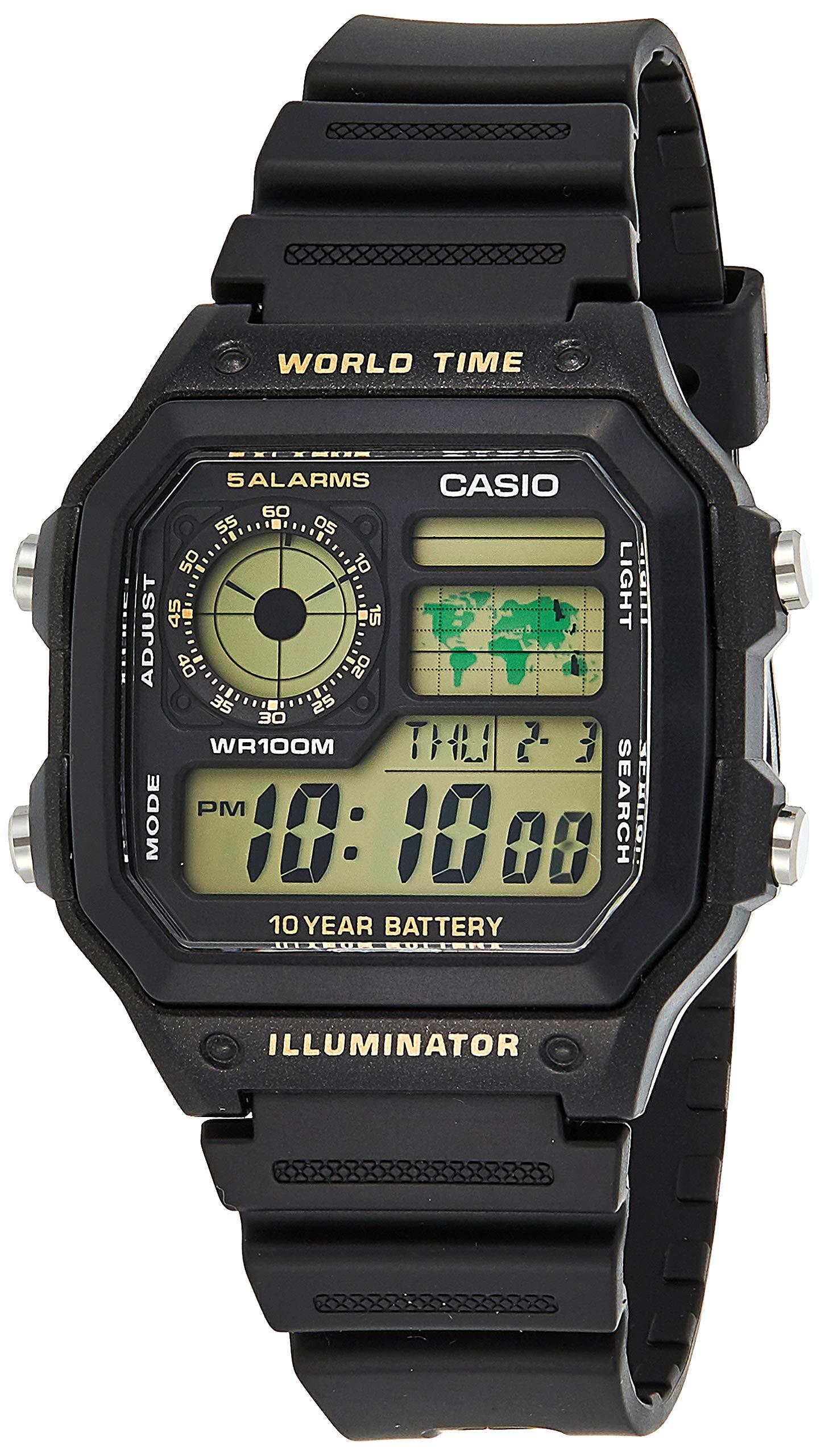 Classic Black Watch AE1200WH-1B