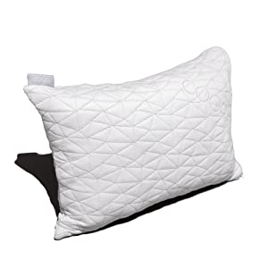 Coop Home Goods Shredded Memory Foam Toddler Pillow 14x19 Adjustable Hypoallergenic & Breathable Little Pillow-Made in the USA