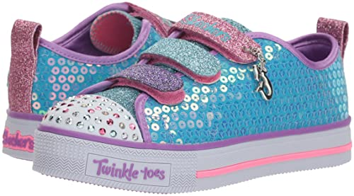 Skechers Mädchen Twinkle Lite Mermaid Magic Sneaker