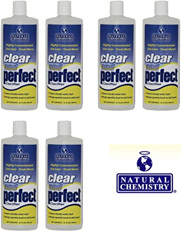 Natural Chemistry 6 03500 Clear & Perfect Swimming Pool Clarifier - 32 oz  Each