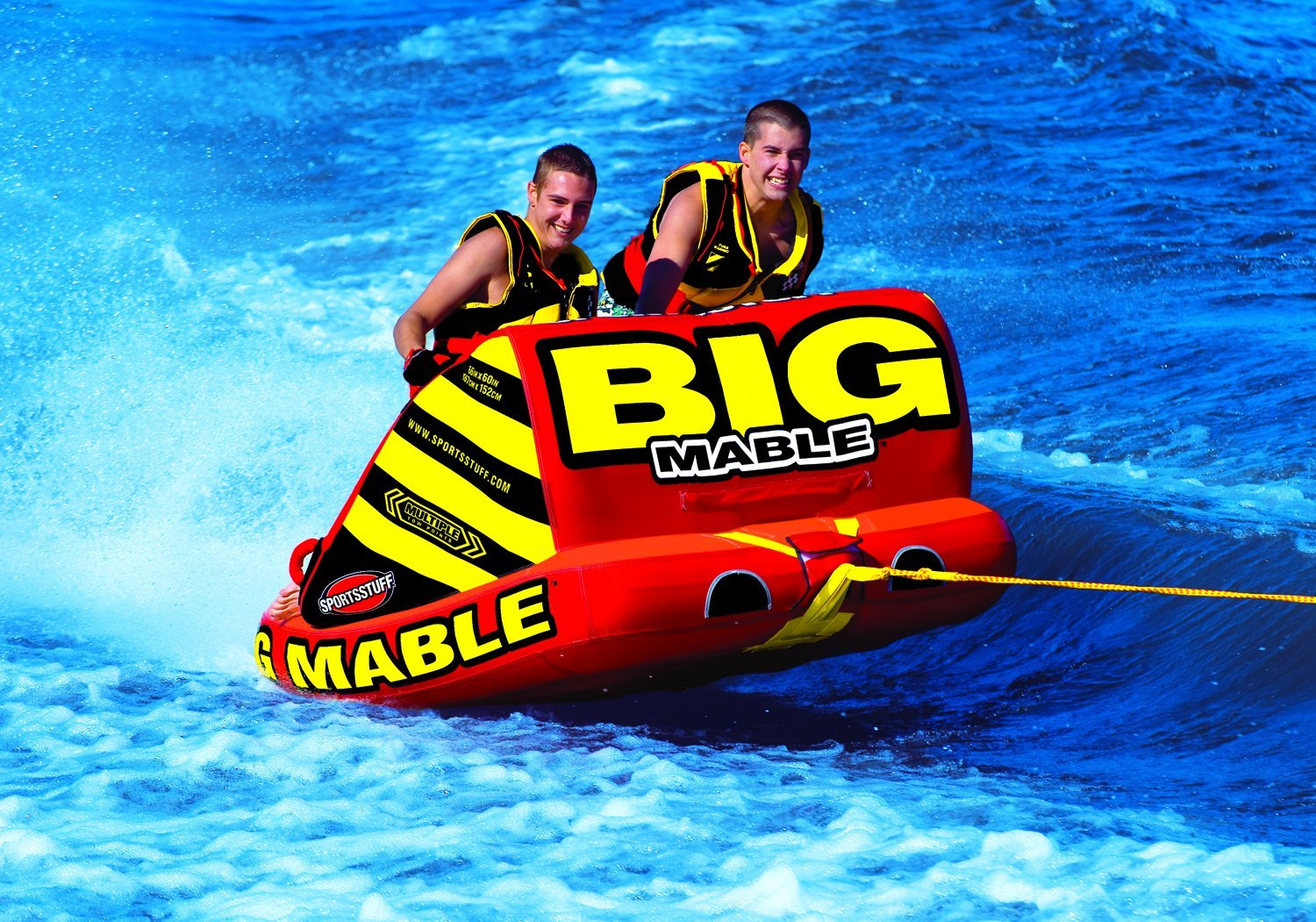 Sportsstuff Big Mable Towable Tube Waterskiing Tow Harness For Towables Sports Outdoors