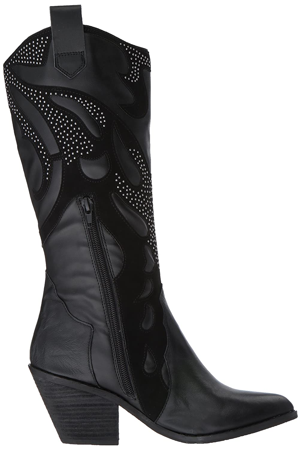 Carlos by Carlos Santana Women's Axel Western Boot B072J9251R 7.5 B(M) US|Black