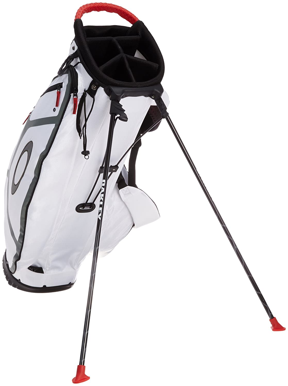 Amazon.com: Oakley Fairway Golf Carry Bag, White: Sports ...
