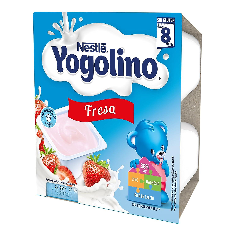 NESTLÉ YOGOLINO, con Fresa, para bebés a partir de 8 meses: Amazon.es: Amazon Pantry