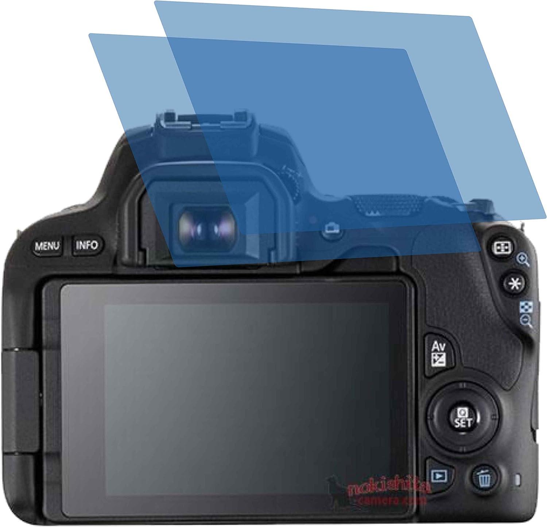 2x Crystal Clear Klar Schutzfolie Für Canon Eos 200d Computer Zubehör