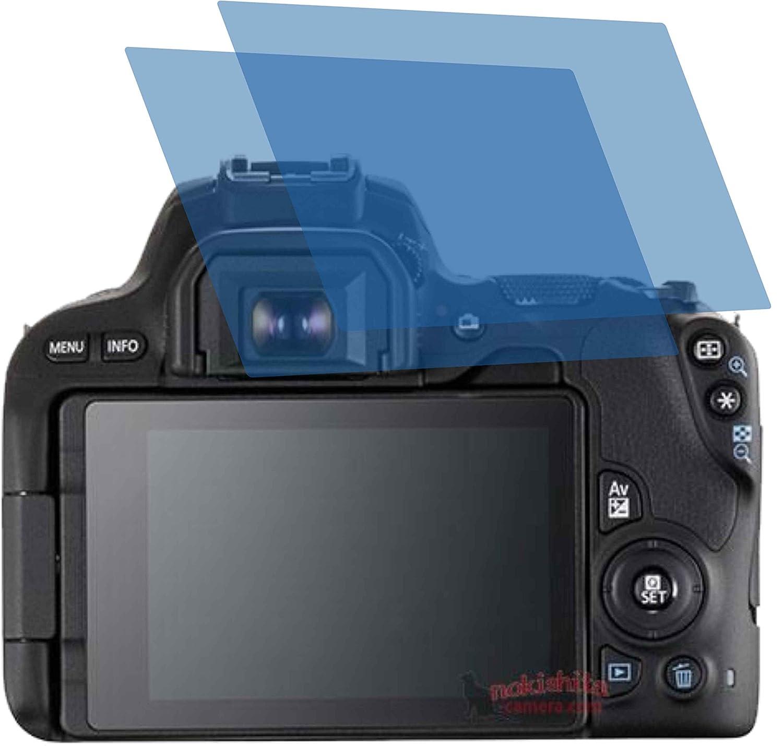 2 x Anti Reflex Mate – Protector de pantalla para Canon EOS 200d ...