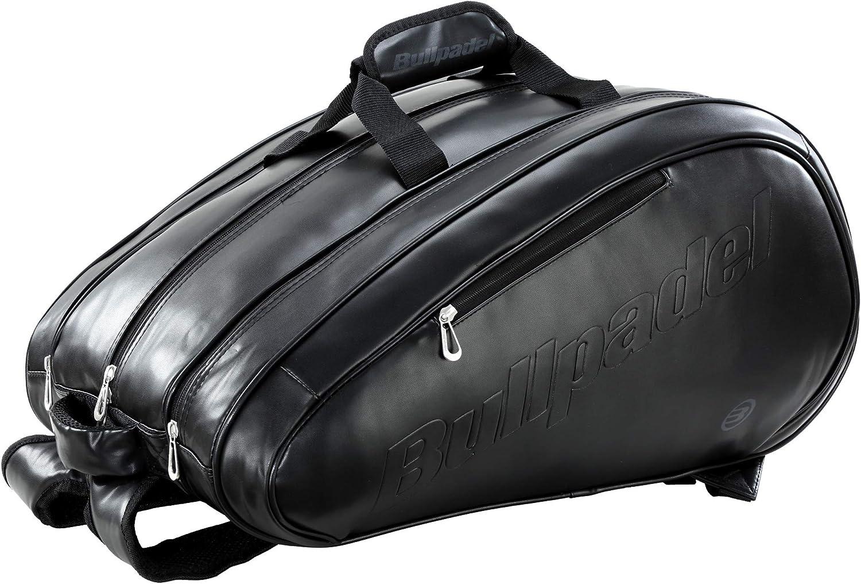 Bullpadel Paletero Avant S Leather Black LTD: Amazon.es: Deportes ...