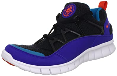 ff2d9e6bb35b Nike Men s Free Huarache Light Black Team Orange Cncrd N Trq Running Shoe