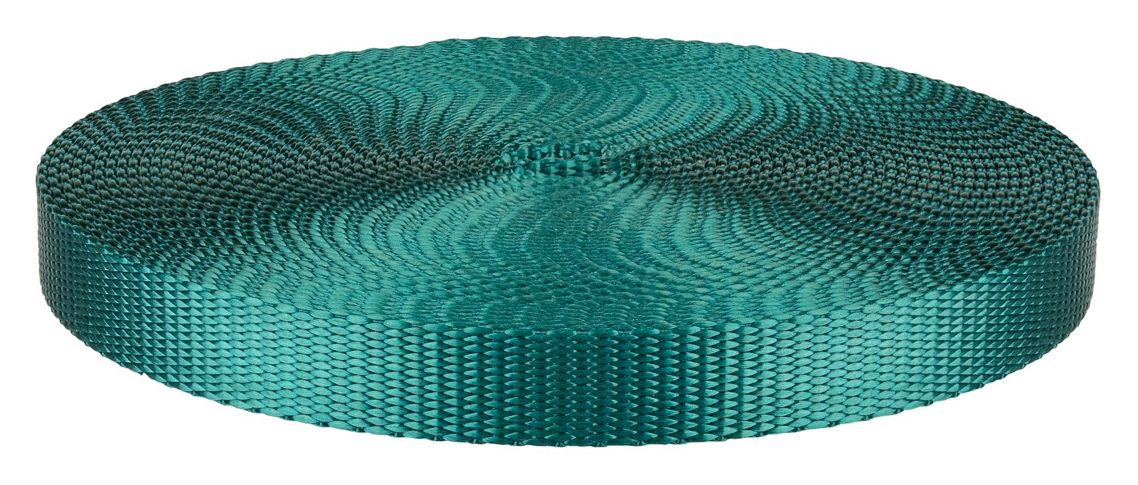 1/2 Inch Teal Heavy Plus Nylon Webbing Closeout, 10 Yards