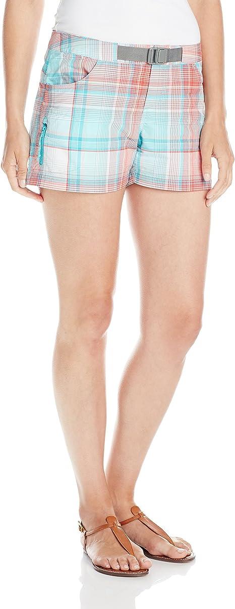 Columbia Sportswear Womens Cross on Over II Plaid Shorts