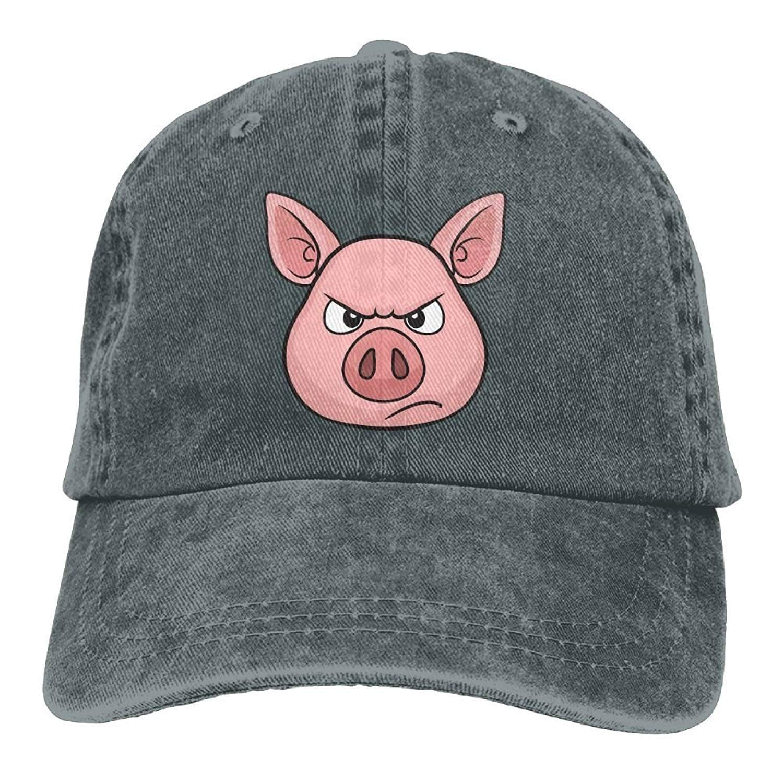 JTRVW Cowboy Hats Angry Pig Adult Cowboy Hat Asphalt