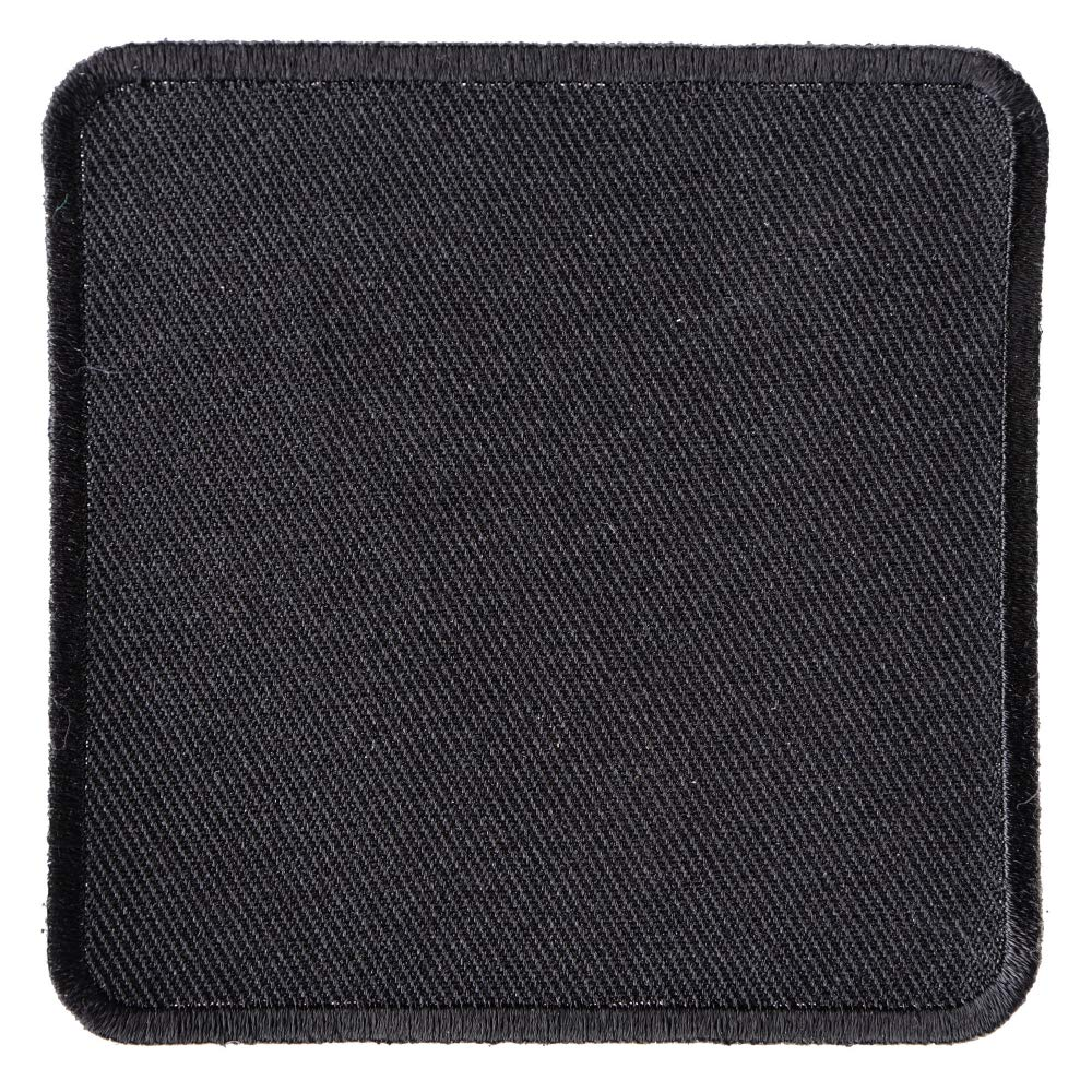 Amazon com: Black 3 Inch Square Blank Patch - By Ivamis Trading