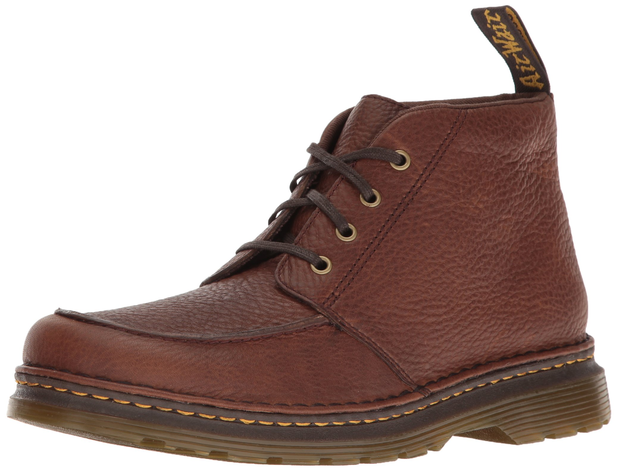 Dr. Martens Men's Austin Chukka Boot, Dark Brown, 9 UK/10 D US