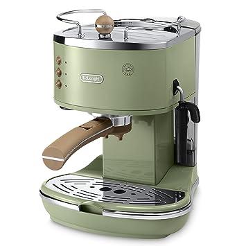 GR - Cafetera (Independiente, Verde, Goteo, De café molido, Vaina, Capuchino, Café expreso, 1,4L): Amazon.es: Hogar