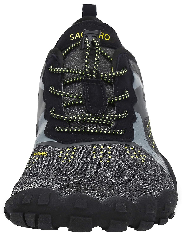 SAGUARO Chaussures Minimalistes Hommes Femmes Chaussures de Fitness Trail Running 36-47