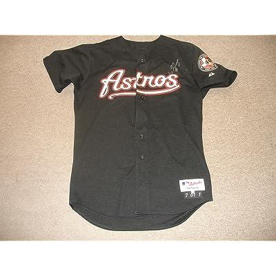size 40 58ef1 2b802 2001 Craig Biggio Houston Astros Autographed Game Issued ...