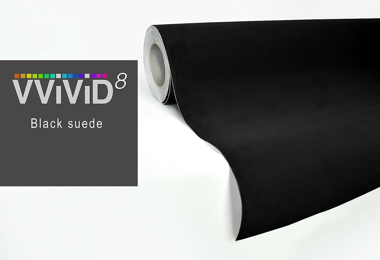 53 self adhesive stretch decal DIY VViViD Vinyl VViViD XPO Black leather suede vinyl car furniture wrap 2ft x 4.60ft