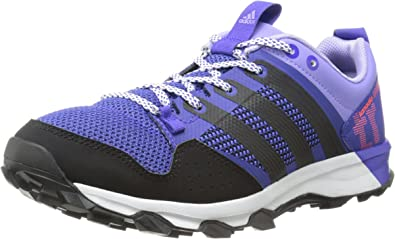 saldar Clip mariposa Subir y bajar  Amazon.com | adidas Performance Women's Kanadia 7 TR W Trail Running Shoe,  Night Flash/Core Black/Light Flash Purple, 5.5 M US | Trail Running