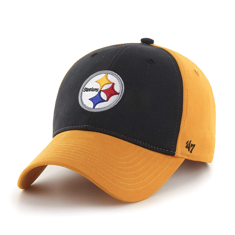 魅力的な価格 NFL B011TT0Z8W Kidsピッツバーグスティーラーズ2トーン刺繍コットンツイルCap by ' ' 47 NFL B011TT0Z8W, ツナチョウ:98228016 --- movellplanejado.com.br