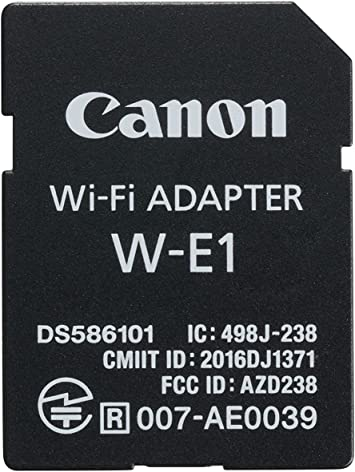5DS R Cameras Canon W-E1 Wi-Fi Adapter for EOS 7D Mark II 5DS