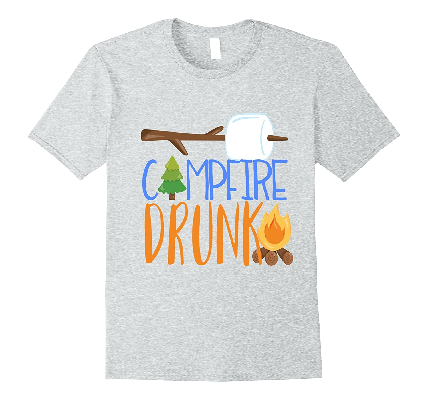 ab3b12c638e3 Campfire Drunk Funny Camping Shirt Camp Camper Glamping Beer – Hntee.com