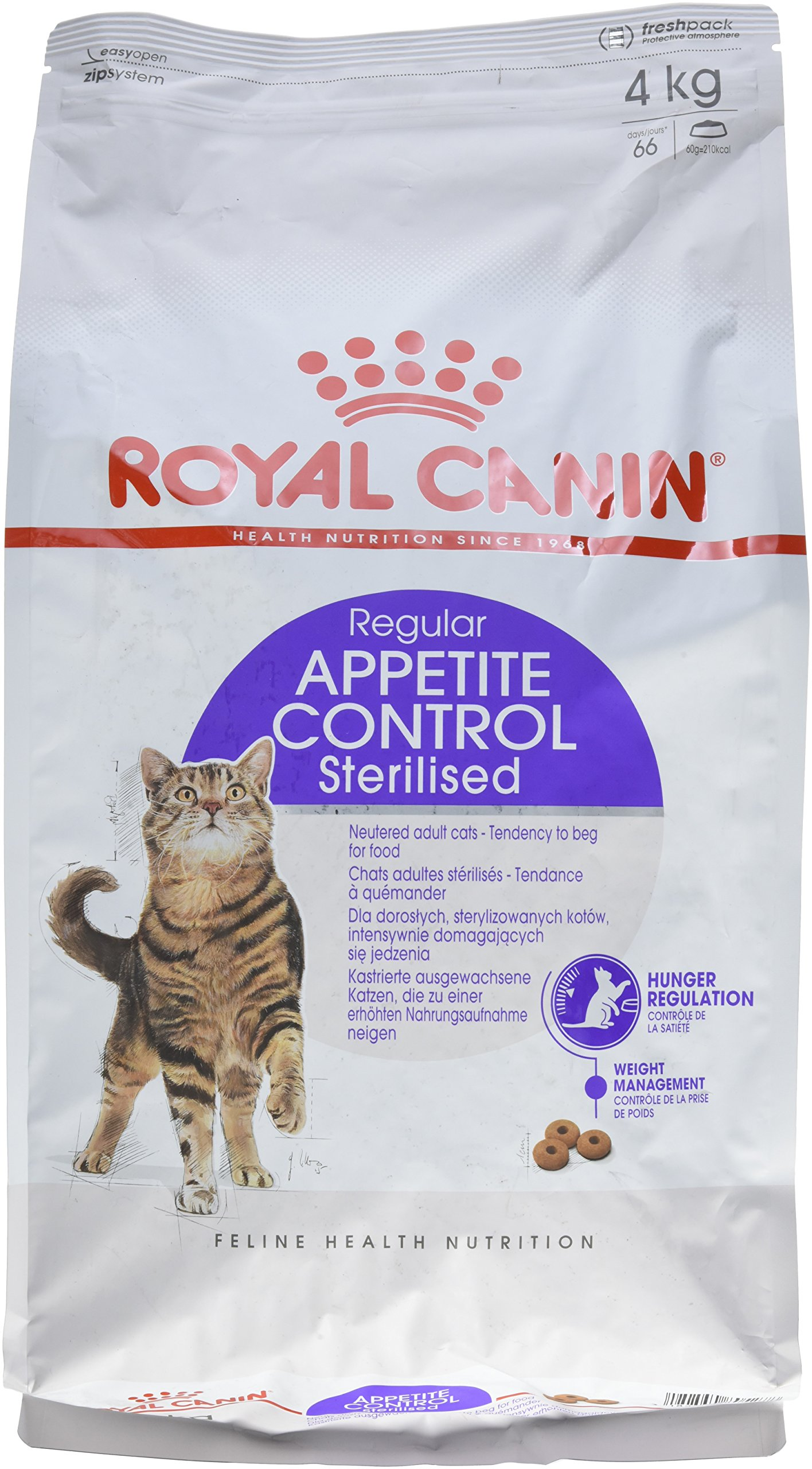 Royal Canin C-584634 Sterilised Appetite Control - 4 Kg product image