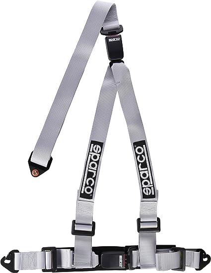 Amazon.com: Sparco Cinturón 2 inch doble liberación de 3 ...